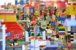 Klocki lego w Legolandzie